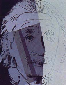 ANDY WARHOL Albert Einstein