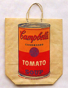 ANDY WARHOL Campbell Soup Can