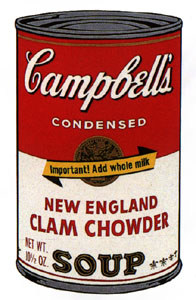 Andy Warhol's Campbell Soup
