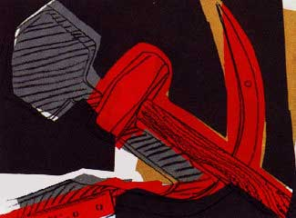ANDY WARHOL Hammer and Sickle