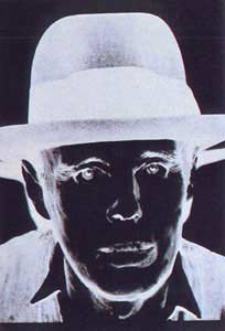 ANDY WARHOL Joseph Beuys